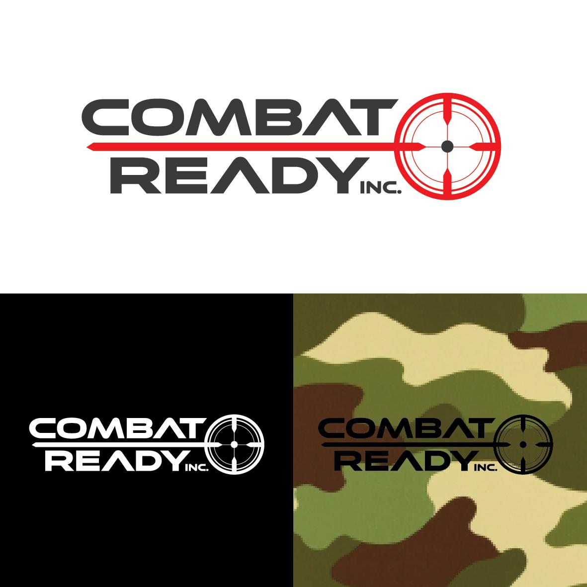 Masculine, Bold, It Company Logo Design for Combat Ready Inc