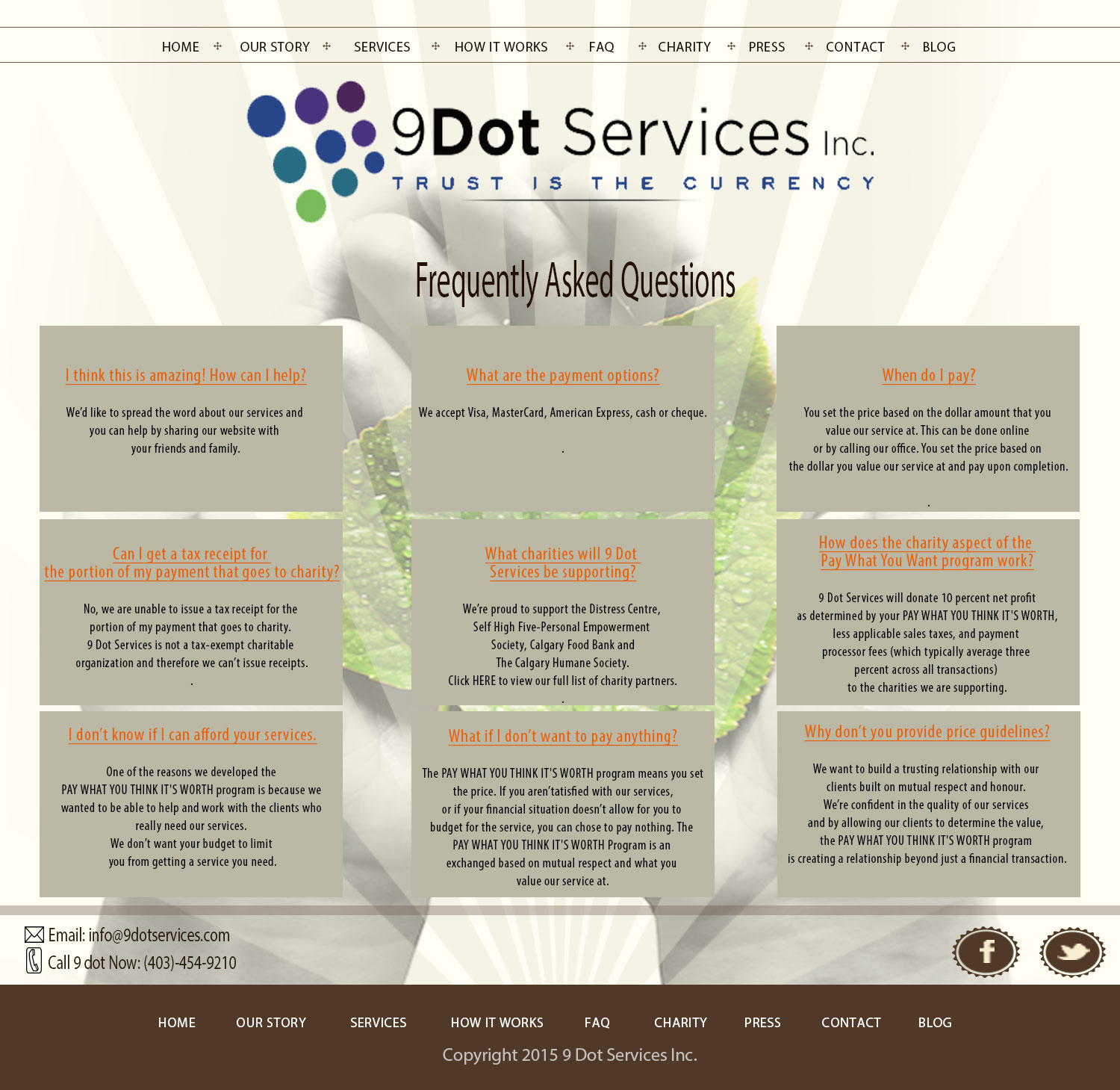 Upmarket Modern It Company Web Design For 9 Dot Services Inc By Hspyres Design 9273946