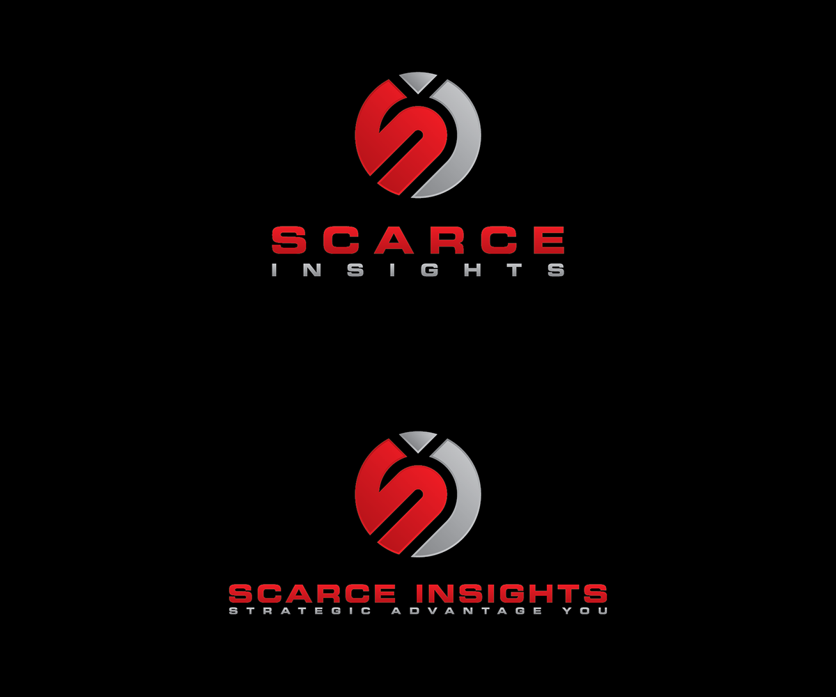 Upmarket modern logo design for scarce insights by for Design company