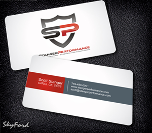 98 professional business card designs fitness business card design business card design by skydesign for this project design 413830 colourmoves Image collections