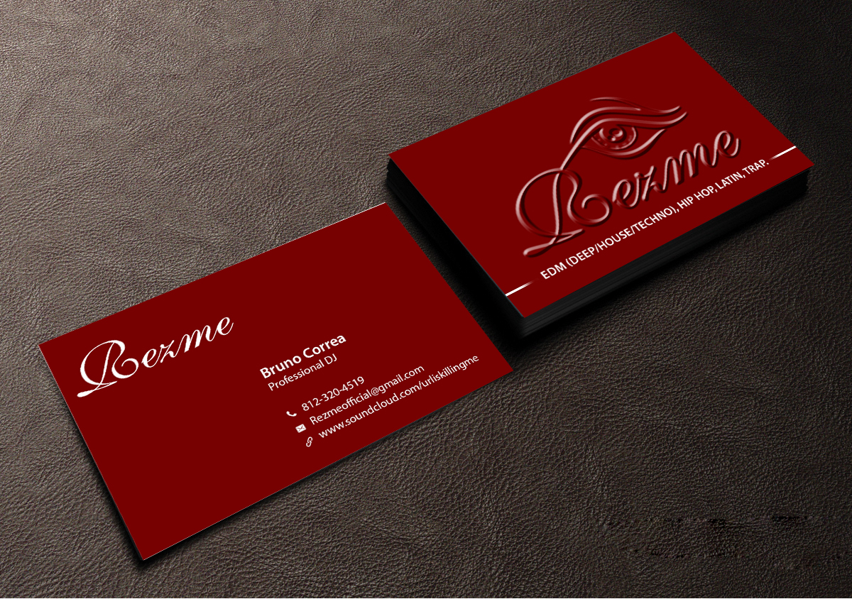 Business Business Card Design for a Company by Creations Box 2015 ...
