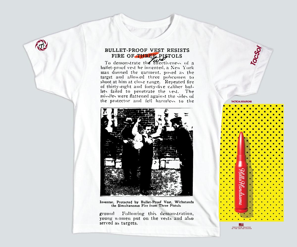 ec867323 Elegant, Playful, Manufacturer T-shirt Design for a Company in United  States | Design 9548081