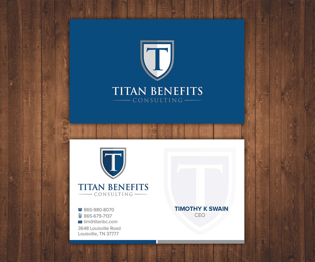 91 Simple Business Card Designs | Insurance Business Card Design ...