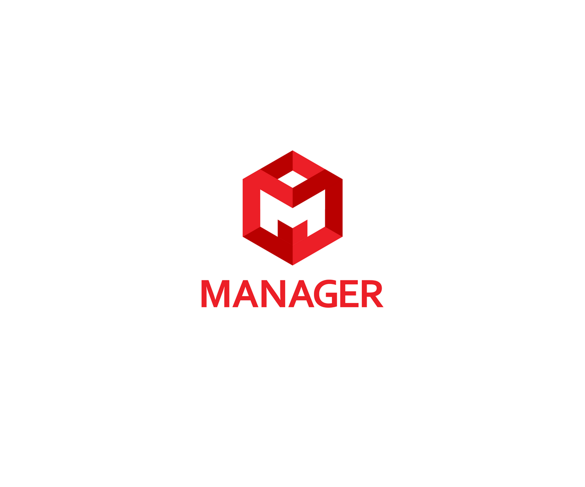 Bold conservative software logo design for manager by for Logo drawing tool