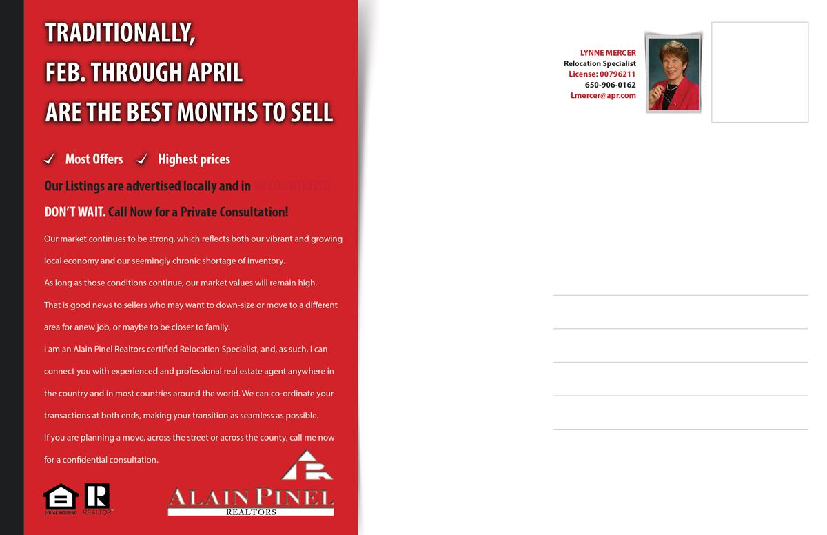 Modern, Professional, Real Estate Agent Postcard Design for