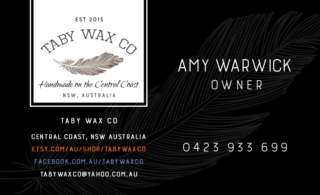 Elegant playful home and garden business card design for taby wax business card design by ebhl7 for taby wax co design 9398214 colourmoves