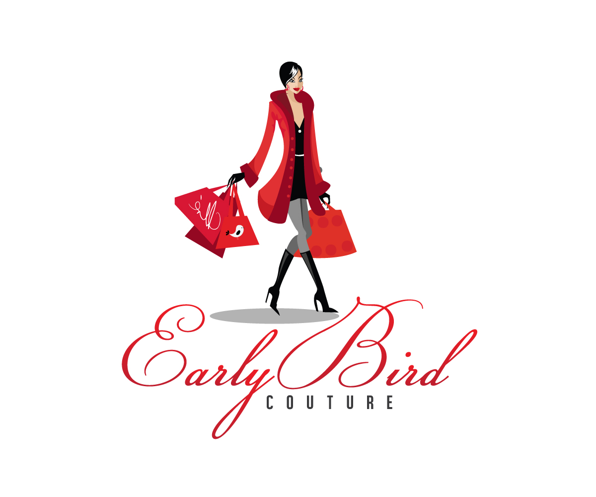 76 upmarket elegant fashion logo designs for early bird