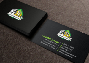 168 modern business card designs lawn care business card design business card design by mediaproductionart for freedom lawns design 9338919 colourmoves