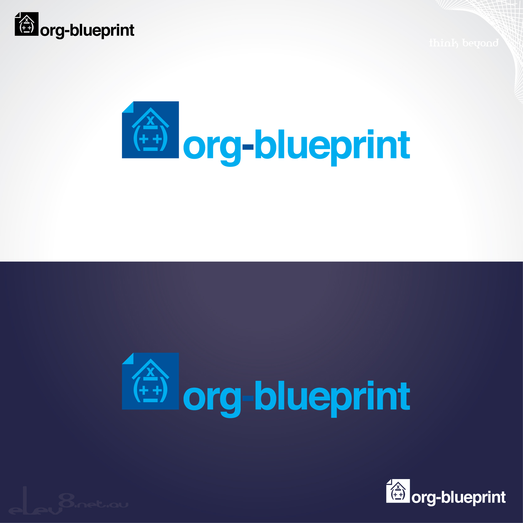 Consulting logo design for org blueprint by elev8 design 15190 consulting logo design for org blueprint in united states design 15190 malvernweather Choice Image