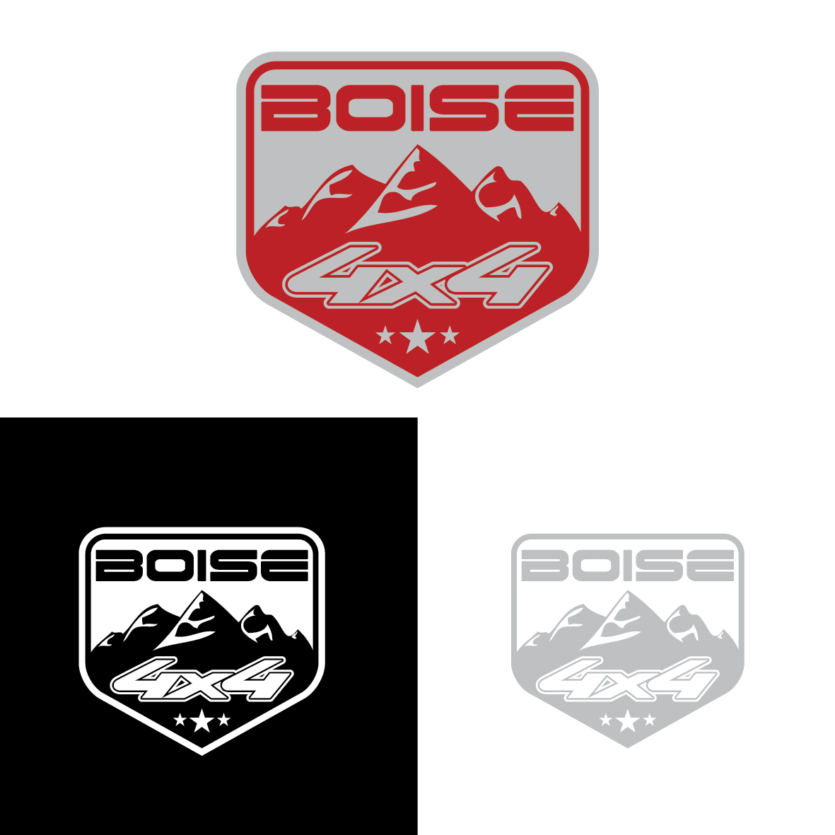 Modern, Professional, Car Manufacturers Logo Design for Boise 4x4 by ...