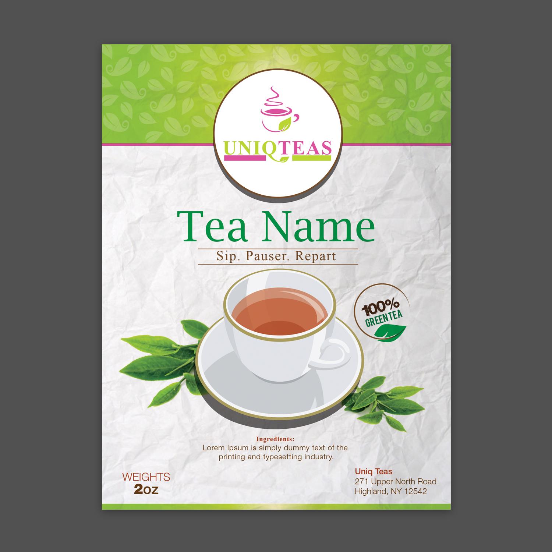 Modern, Conservative Packaging Design for Caraway Tea
