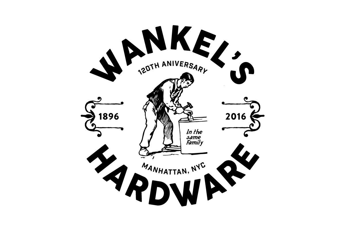 wankels hardware logo design by magnolia studio