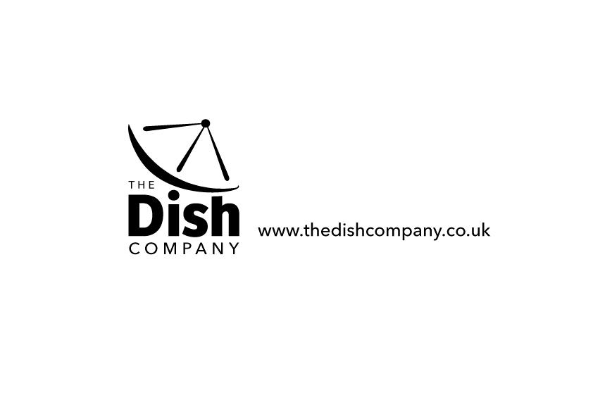 logo design for the dish company by ainku ainku design