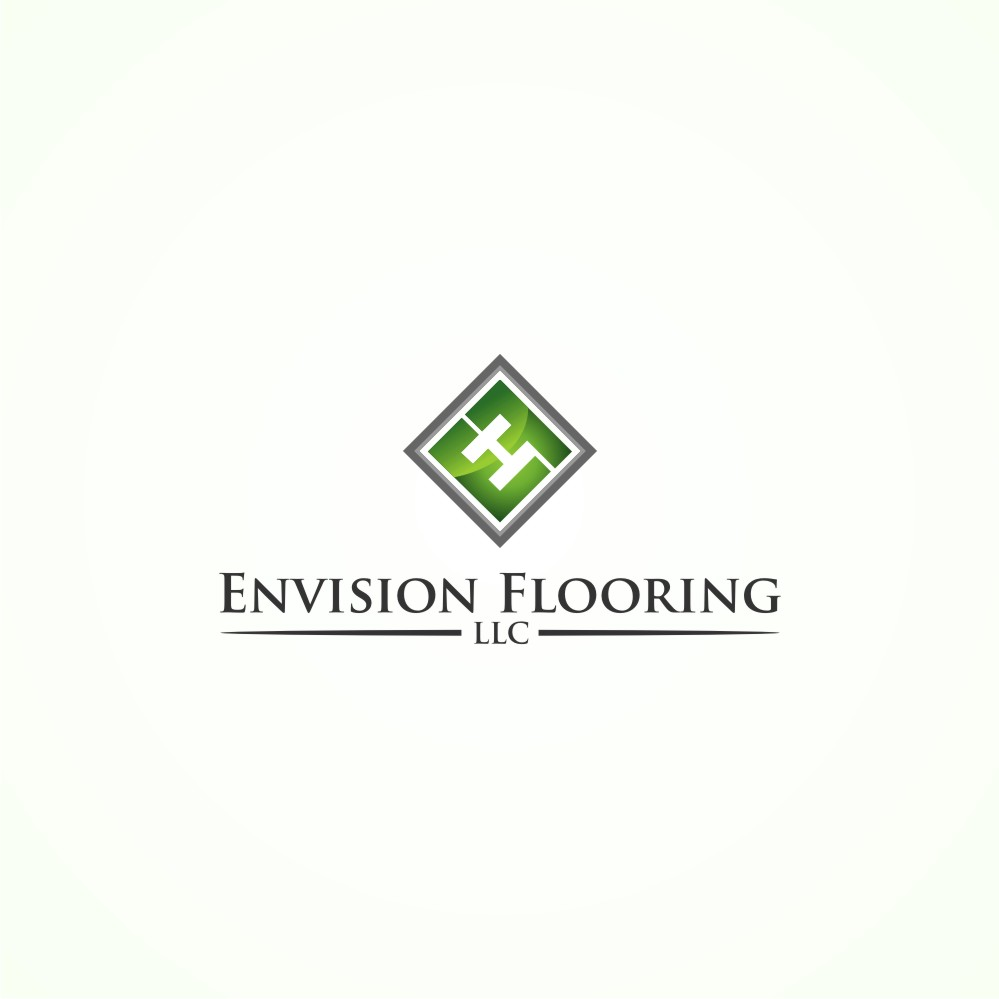 Modern Upmarket Logo Design for Envision Flooring LLC by south