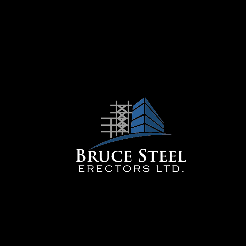 Structural Steel Logos : Serious traditional structural steel logo design for bse