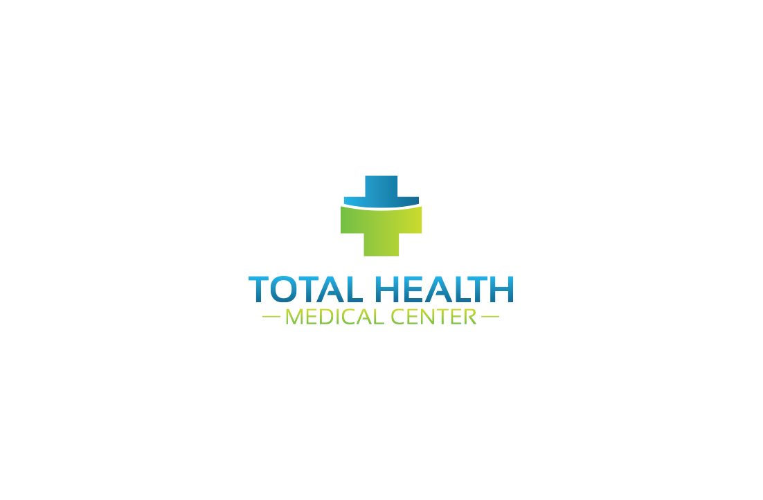 Clinic Logo Design For Total Health Medical Center By Gldesigns