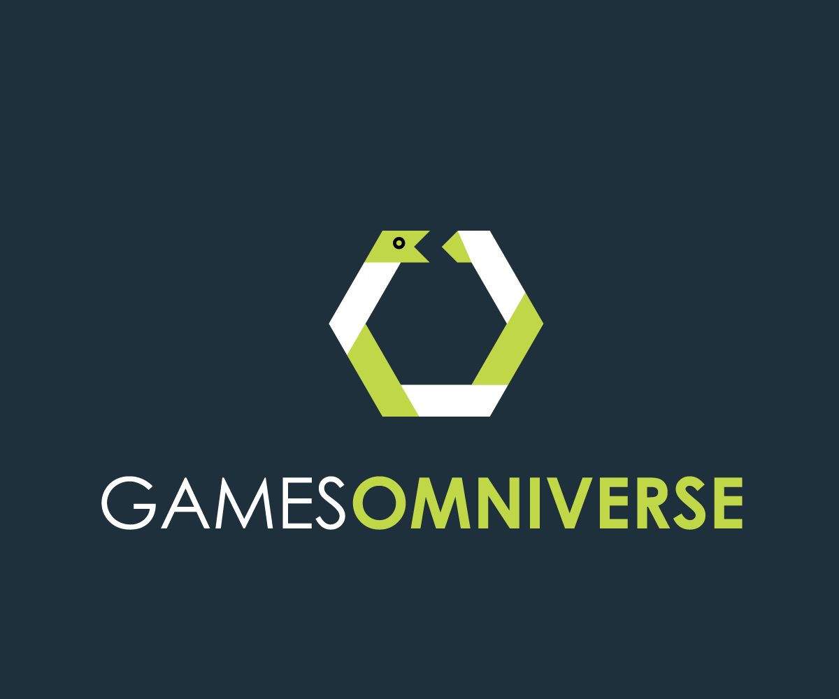 Bold playful games logo design for games omniverse by for Designing company