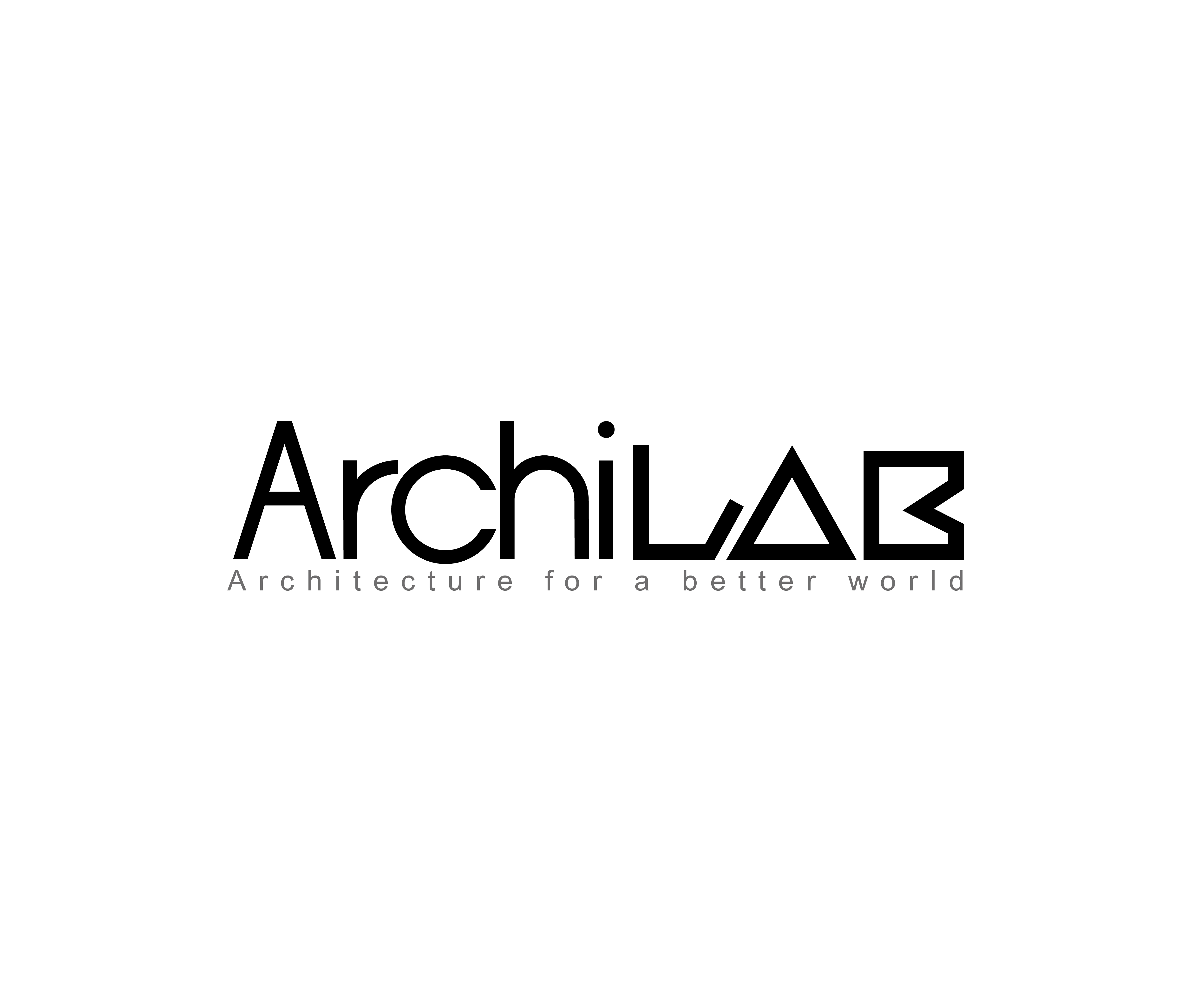 design de logo professionnelle haut de gamme architecture pour archilab par graphiczone. Black Bedroom Furniture Sets. Home Design Ideas