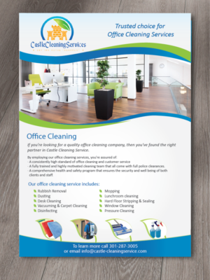 29 Modern Professional Office Cleaning Flyer Designs for a Office ...