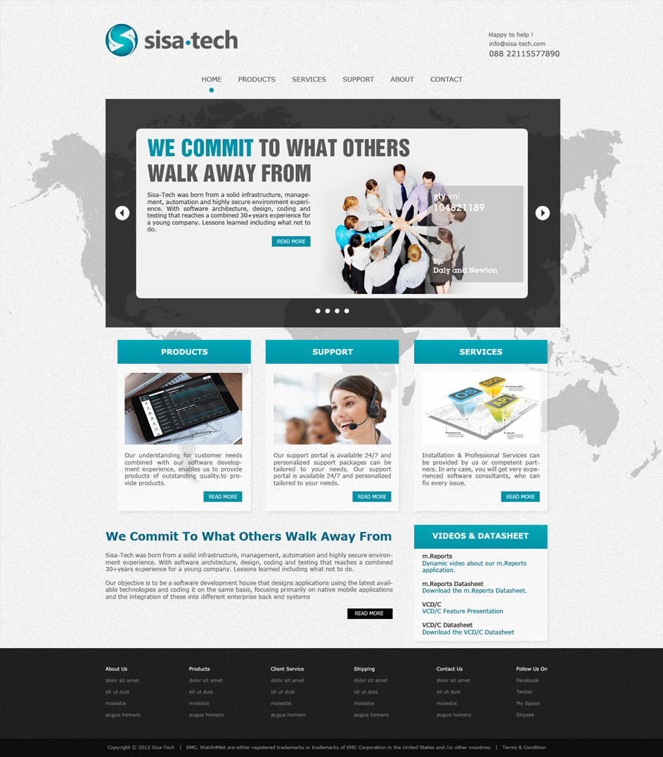 Masculine serious training web design for a company by for Masculine web design