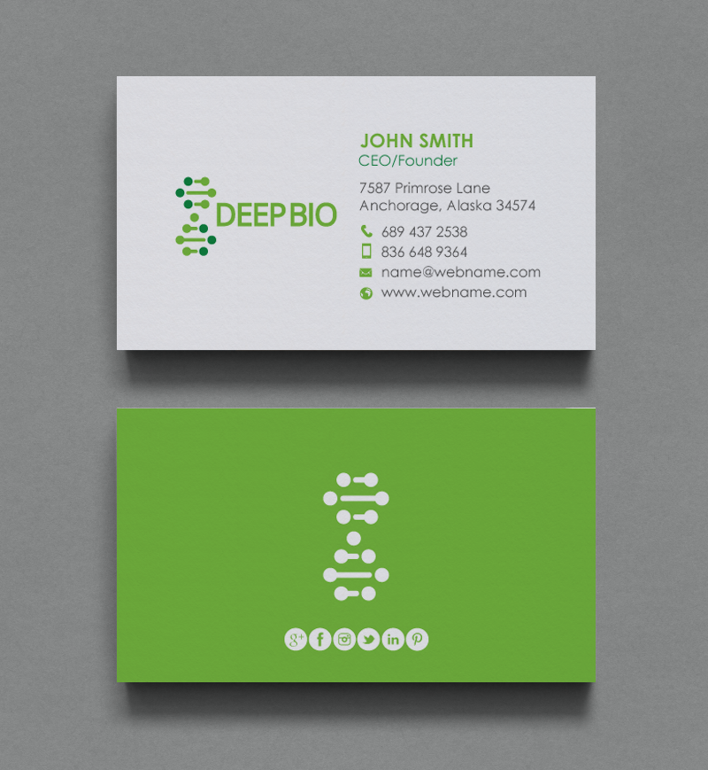 Business Business Card Design For A Company By Chandrayaaneative