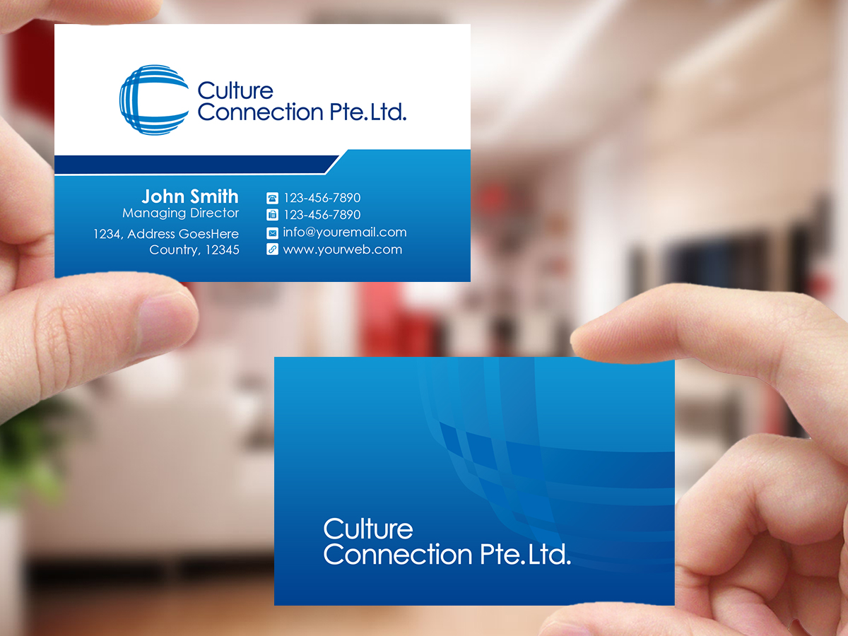 Upmarket serious education business card design for a company by business card design by creations box 2015 for this project design 9416546 colourmoves