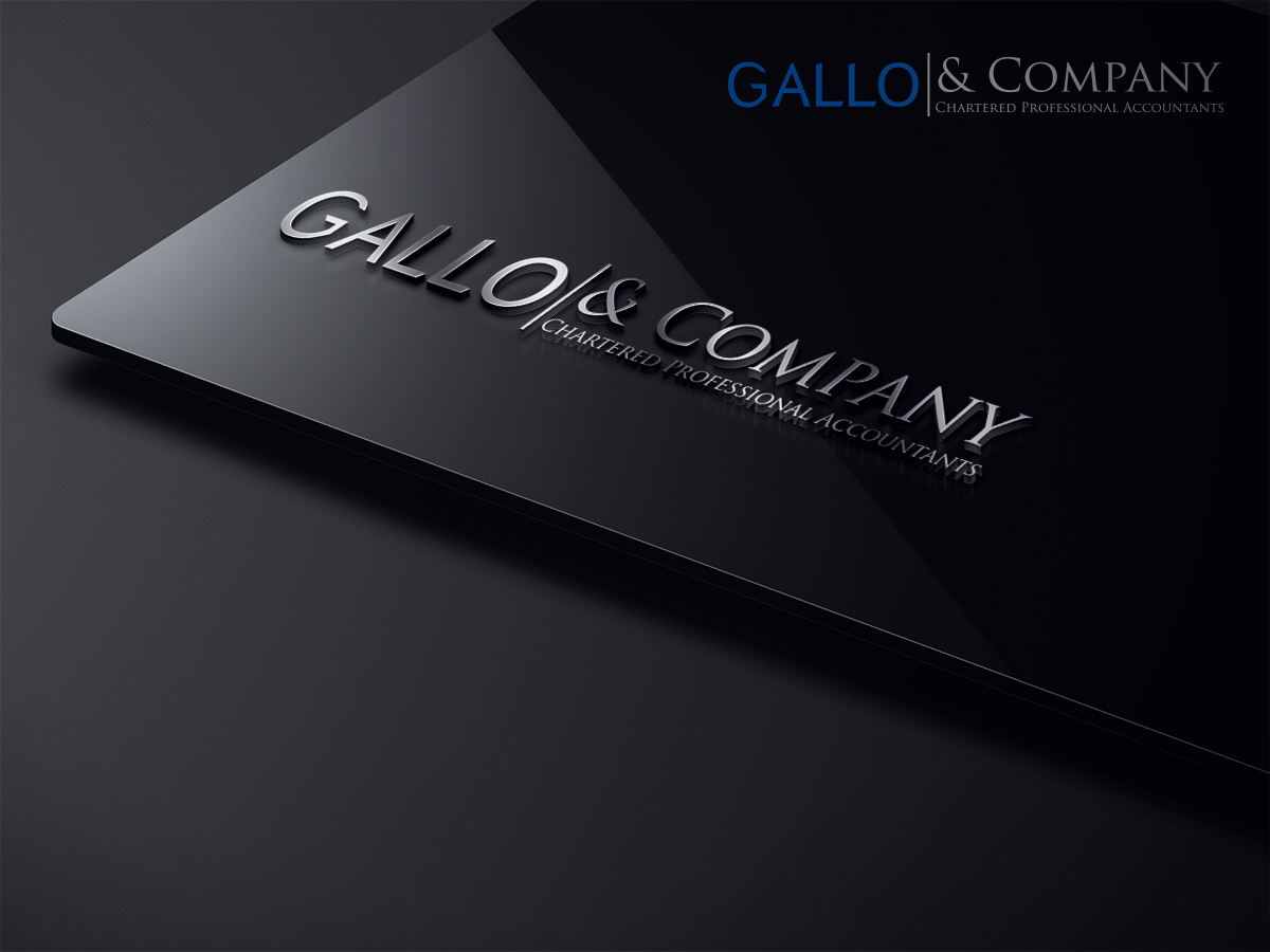Professional, Serious Logo Design for Gallo & Company Chartered ...