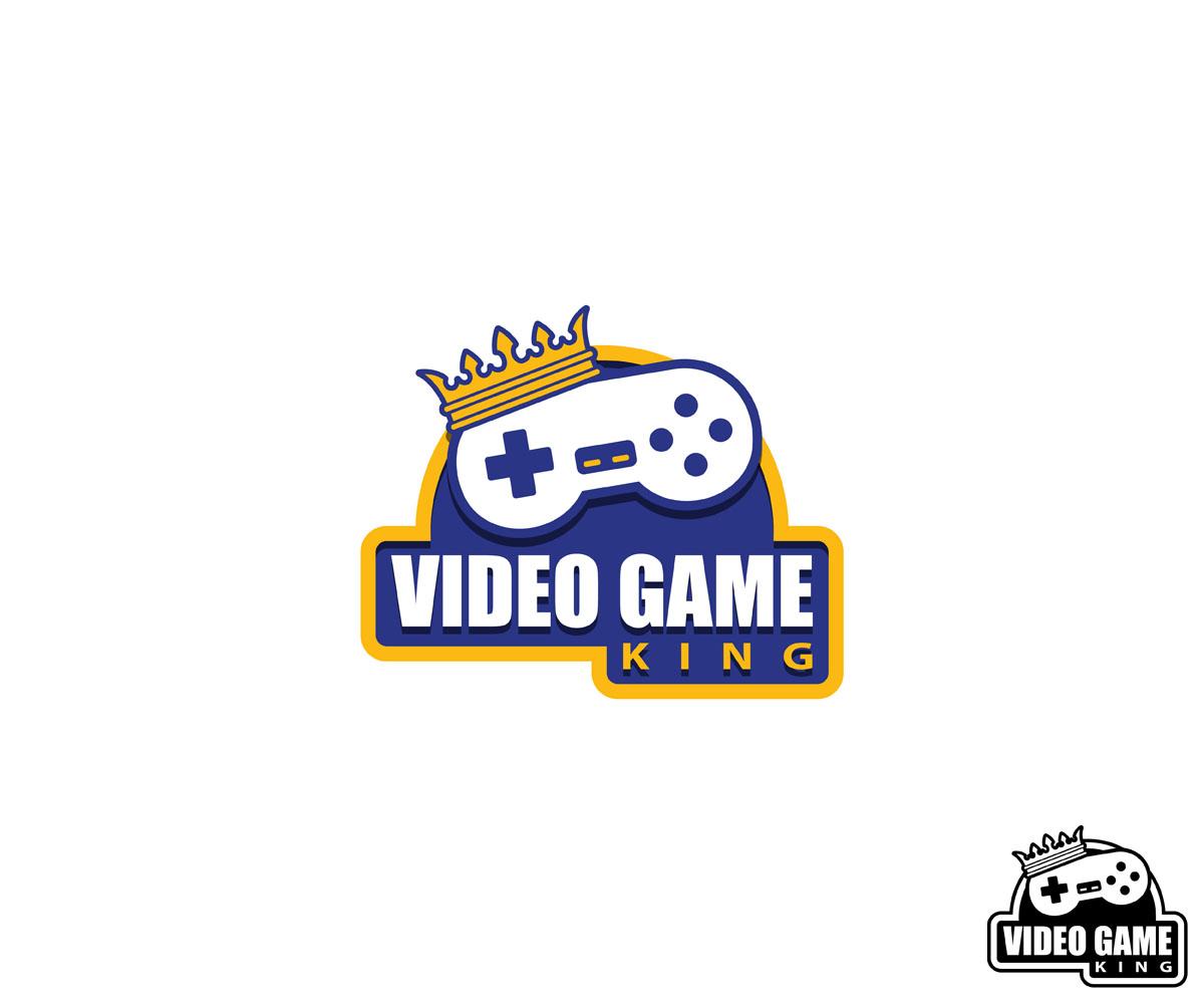 Video Game King Logo by ArtMajesty