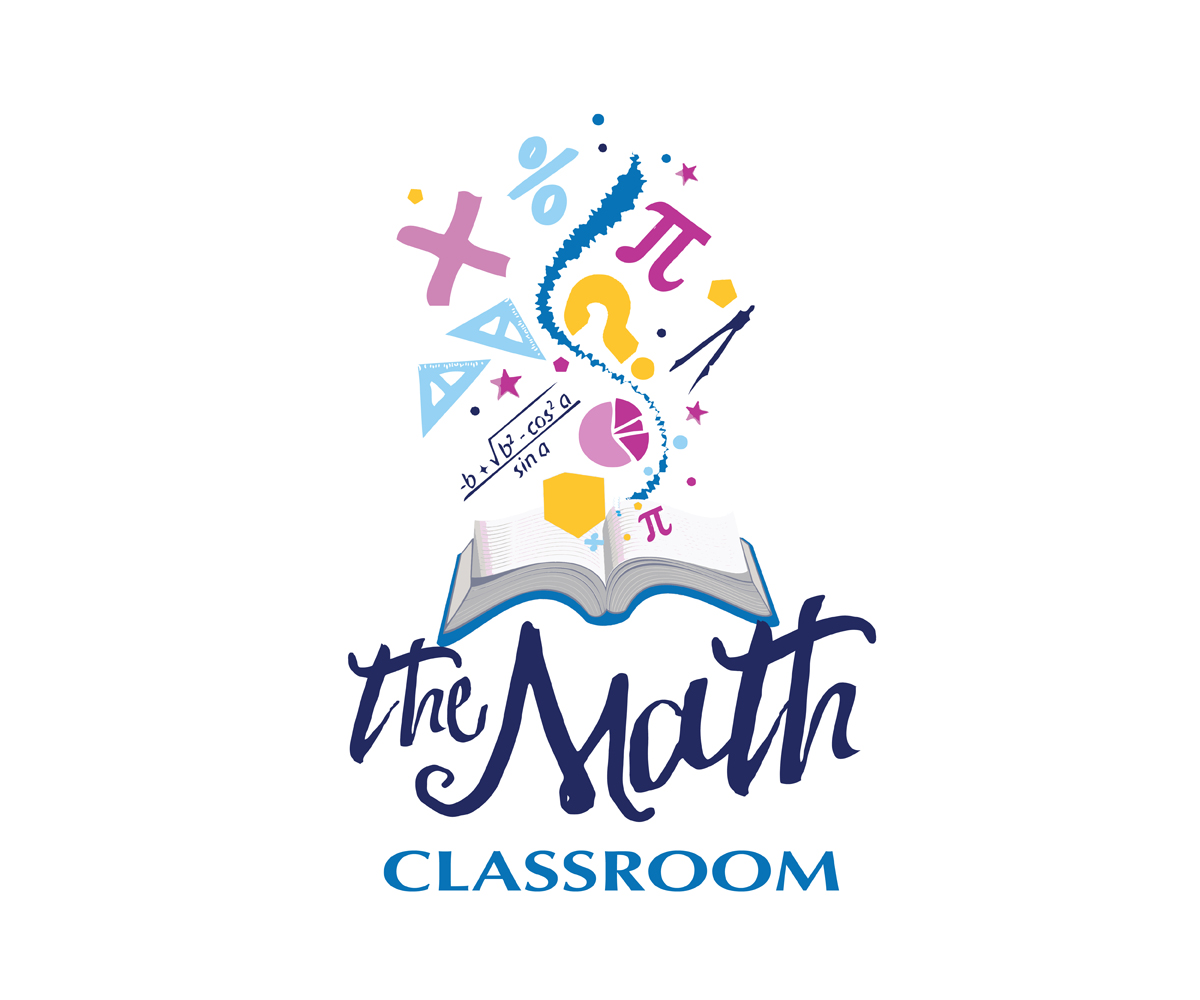 modern upmarket education logo design for the math classroom by