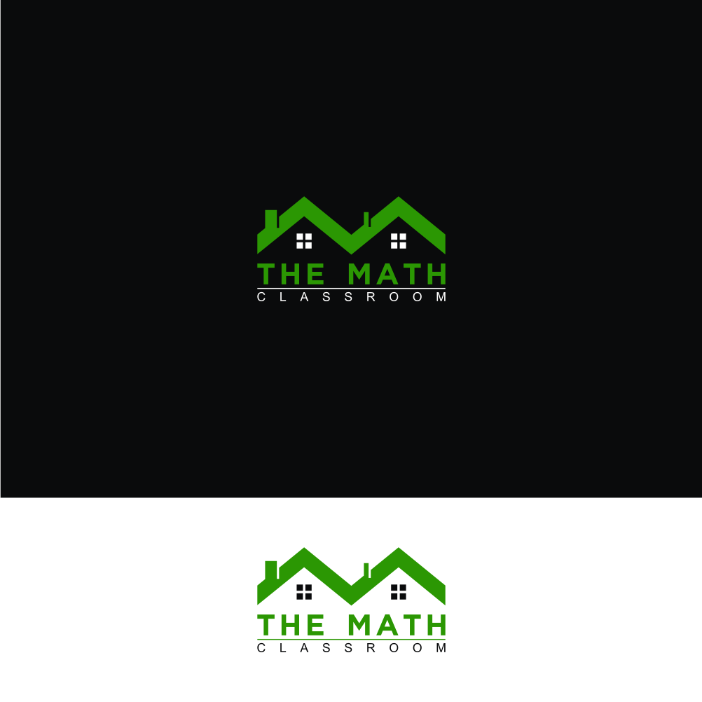 Classroom Logo Design ~ Modern upmarket education logo design for the math