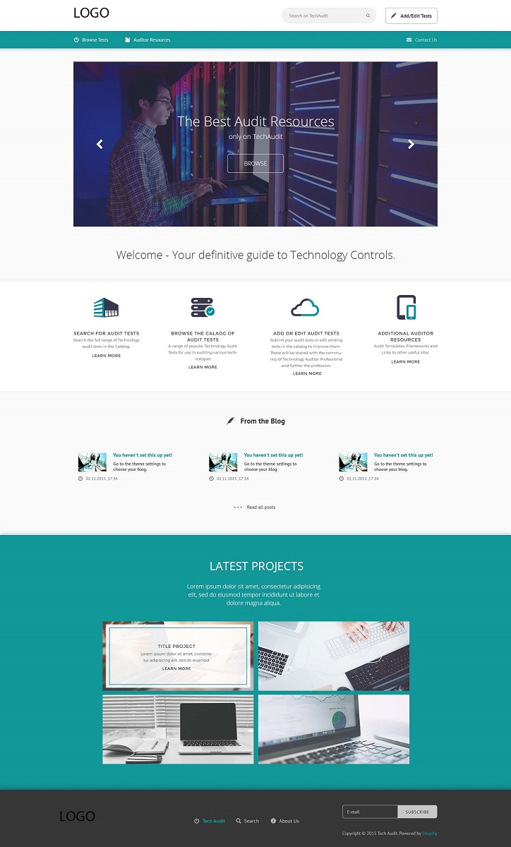 Masculine serious financial service web design for a for Masculine web design