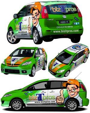 Graphic Design by futureArt - Vehicle Wrap