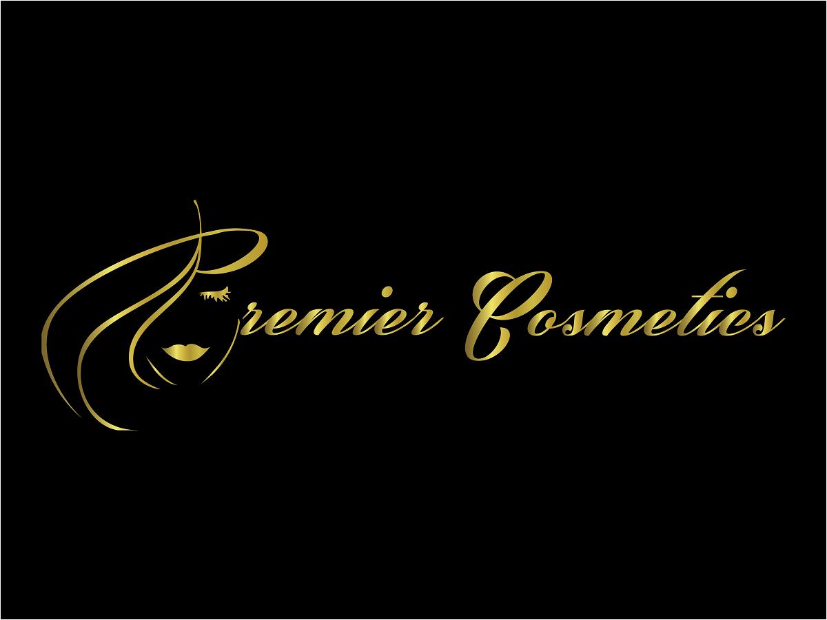 Elegant, Feminine, Cosmetics Logo Design for premier ...