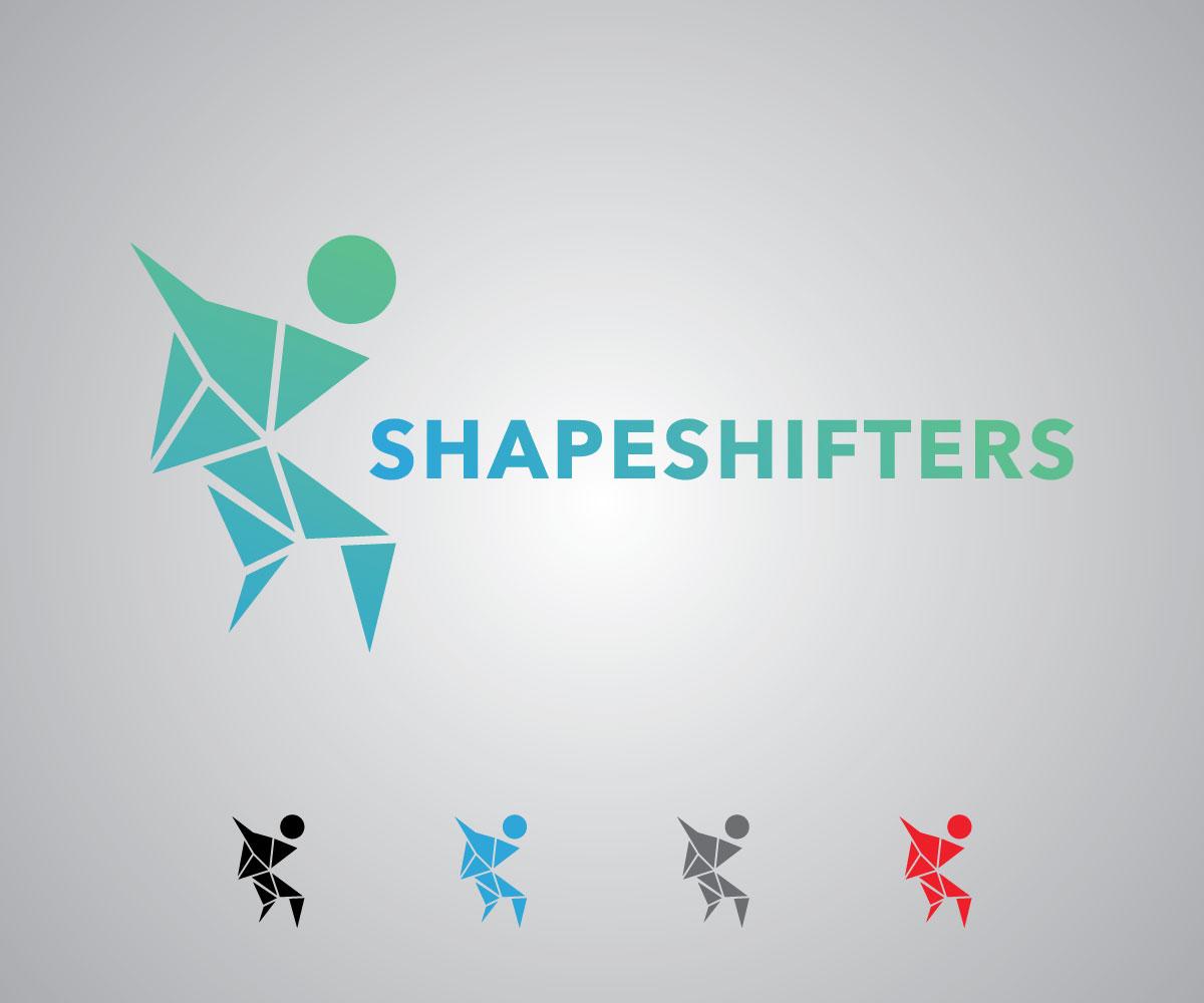 Elegant, Playful, Fitness Logo Design for Shapeshifters by