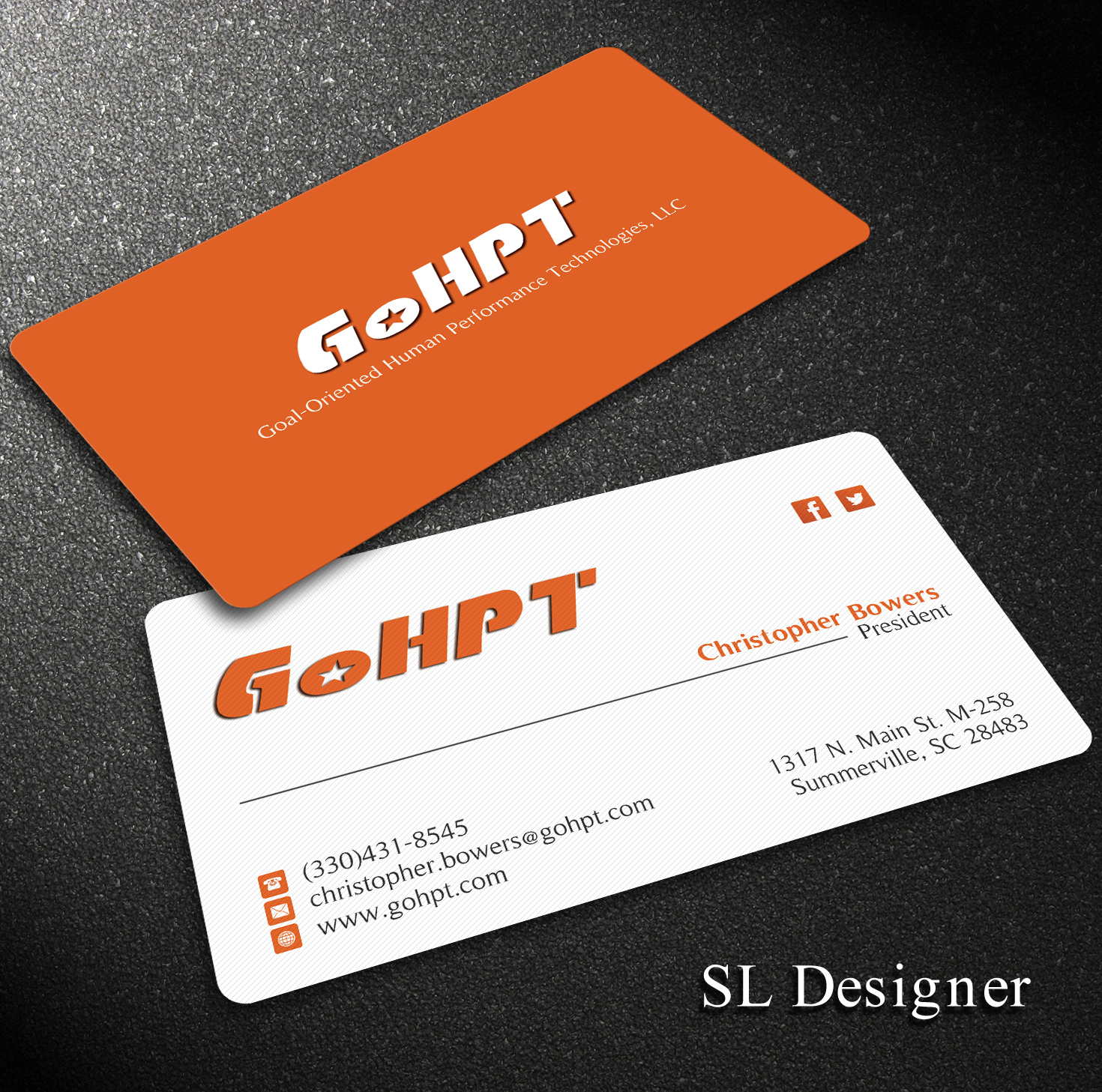 Feminine, Playful Business Card Design for Christopher Bowers by SL ...