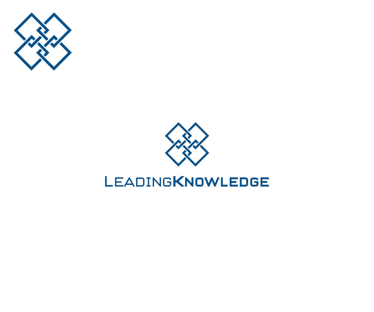 Bold, Upmarket, Information Technology Logo Design for LEADING ...