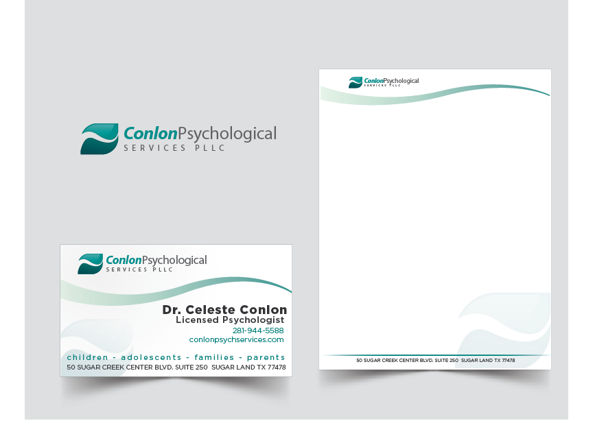 Upmarket professional business business card design for none business card design by jaimesp for conlon psychological services pllc design 2101222 reheart Image collections
