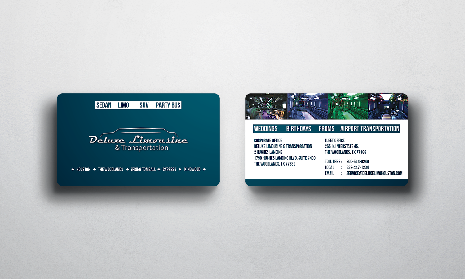 Bold professional business card design for 5 diamond business card design by sajin for limo company looking for a graphic business card with professional magicingreecefo Gallery