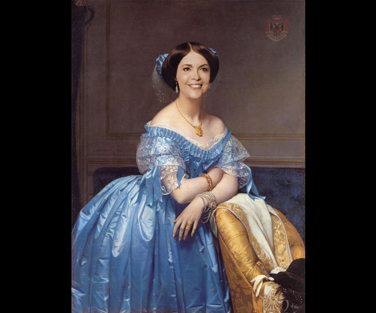 Dilma Rousseff as Princesse Albert de Broglie