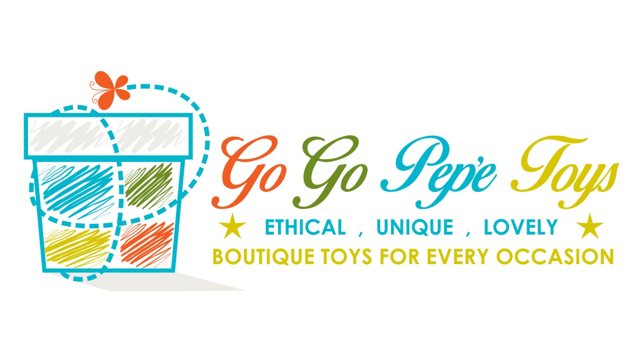 Toy Store Logo : Upmarket elegant toy store logo design for quot go pepe