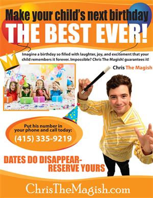Flyer Design by LV Design Studios -  8.5x11 Flyer Design Project for Children's Mag...
