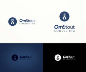 logo design design 9540199 submitted to omstout consulting logo design closed