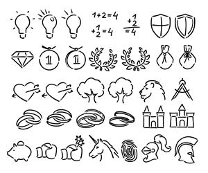 Icon Design by Mitya Mordovenko