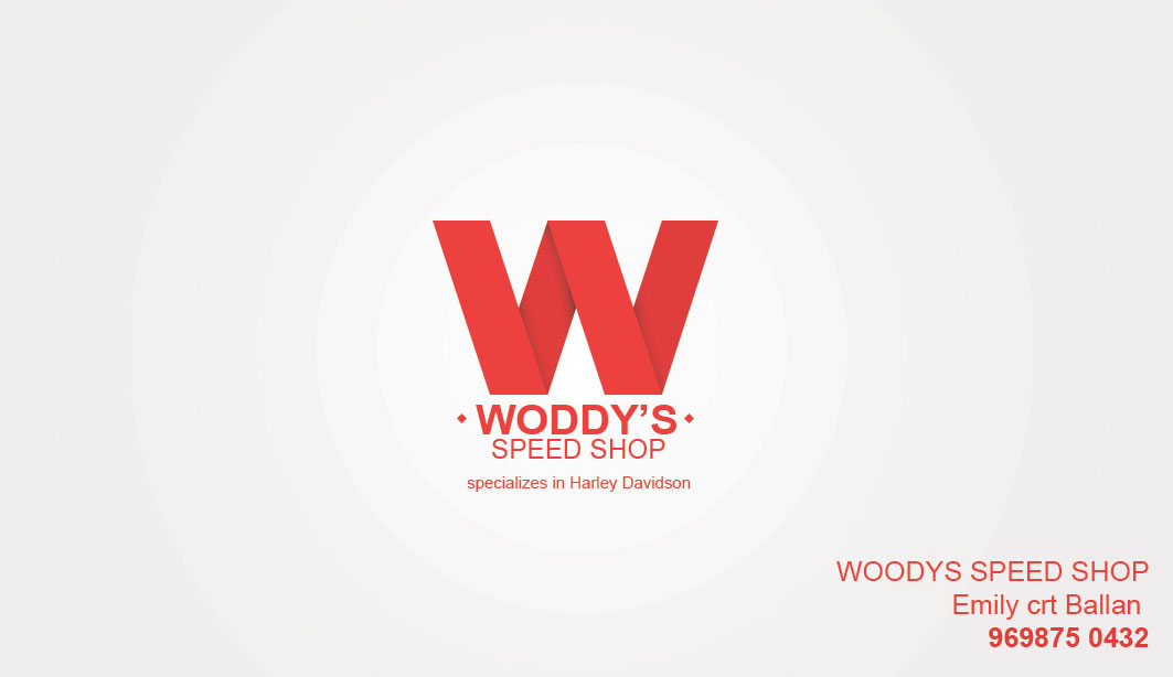 Business Business Card Design for woodys speed shop by Stefan ...