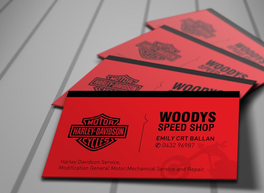 Business Card Design for brian wood by Orangecult Branding Studio ...