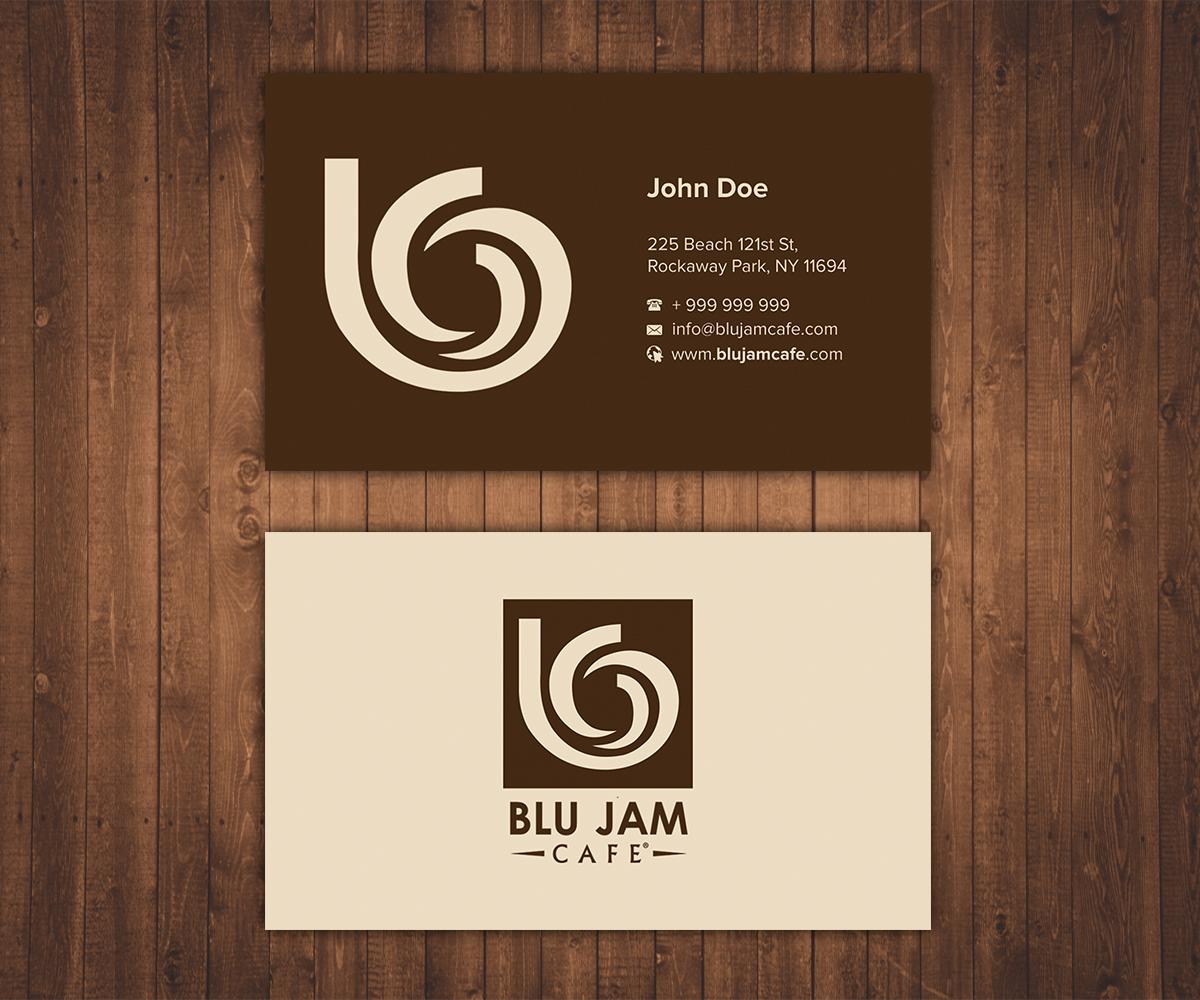 Business Card Design By Stylez Designz For Cafe Needs A