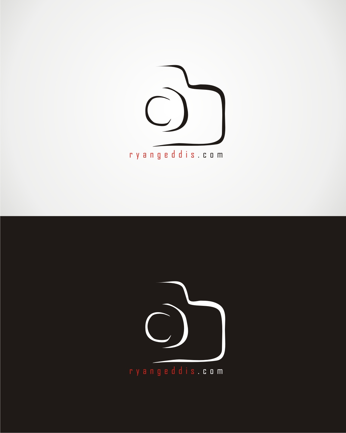 Camera Logo Design for ryangeddis.com by kamiranz   Design #9529865