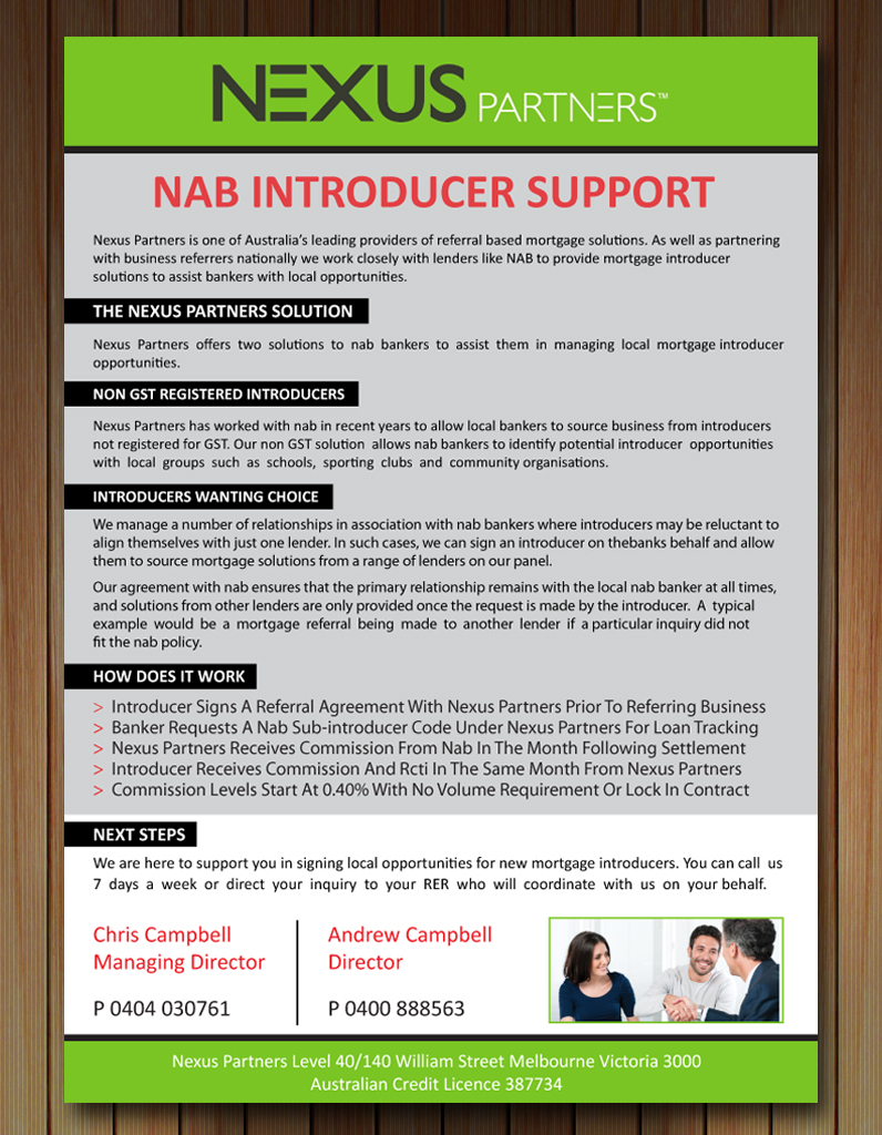 Elegant, Playful Brochure Design for Nexus Partners by Smart ...