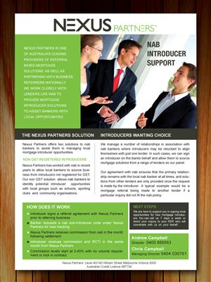 33 Elegant Playful Finance Brochure Designs for a Finance business ...