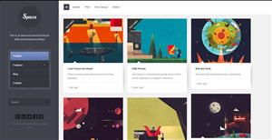 Wordpress Design by JustDoIt - Personal Career Site and Blog design